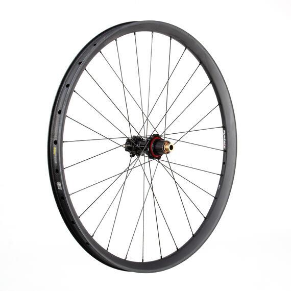 C33i Straight Carbon Rear Wheel 12S Alu SuperTorque matt