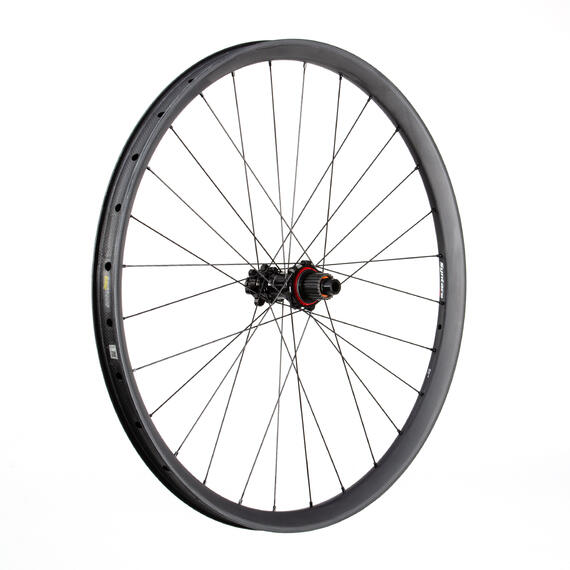 C33i Straight Carbon Rear Wheel 12S Steel SuperTorque