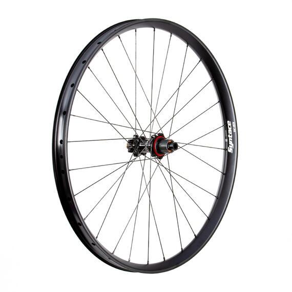 W40i Straight Alu Rear Wheel 12S Steel SuperTorque matt