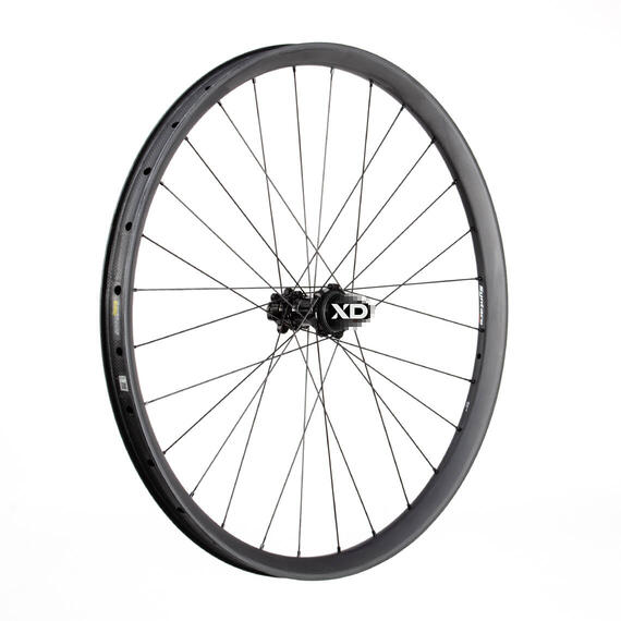 C33i 584 - Straight Carbon Rear Wheel XD Alu SuperTorque matt - Boost