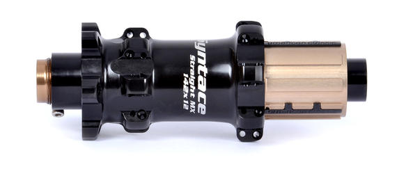 Straight MX Rear Hub